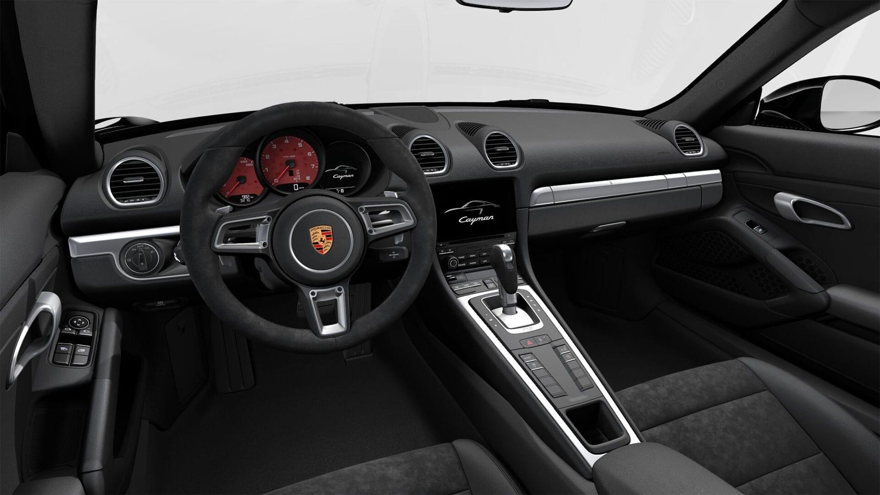 CarVia Porsche Cayman Interieur