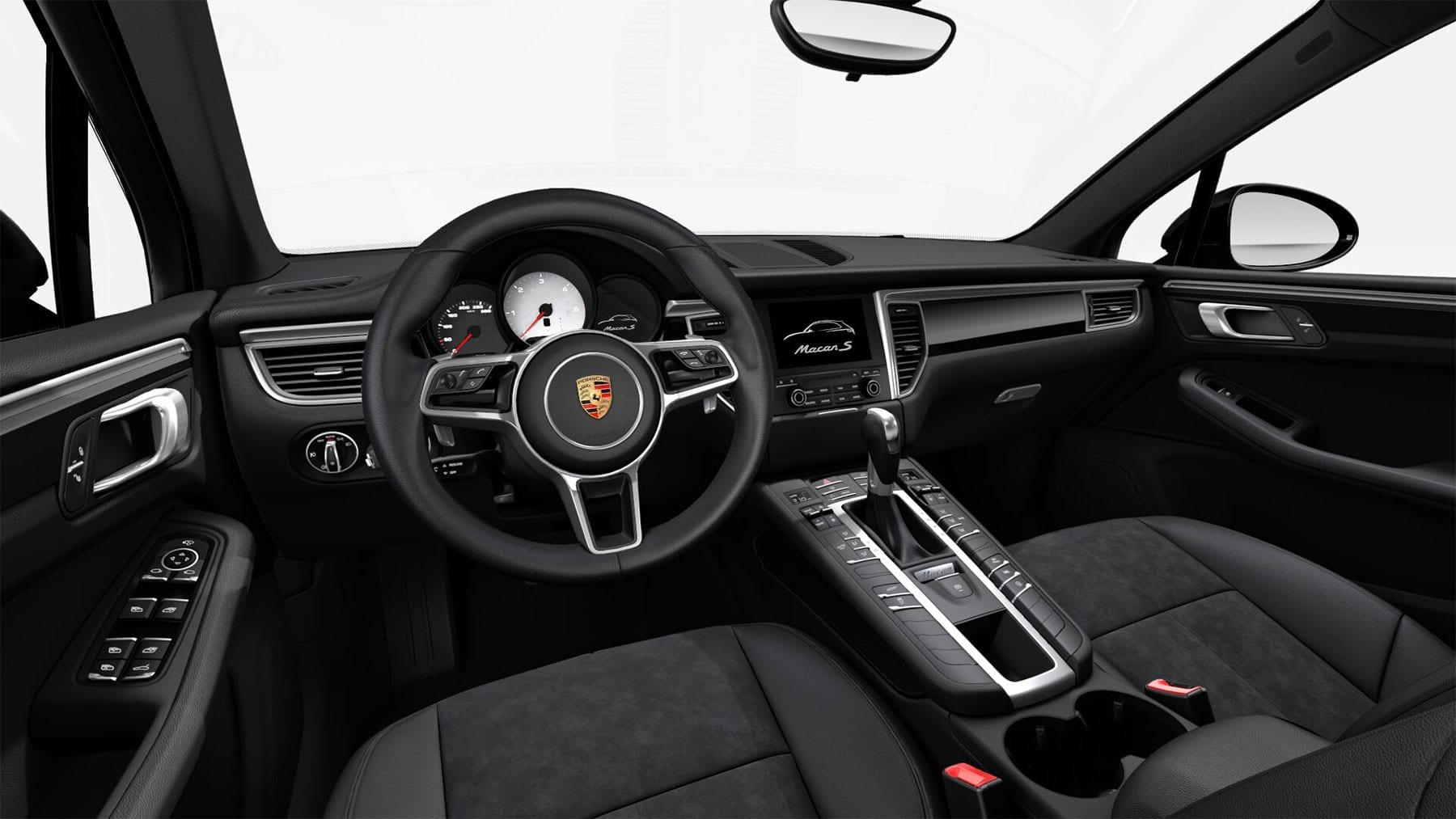 CarVia Porsche Macan S Diesel Interieur