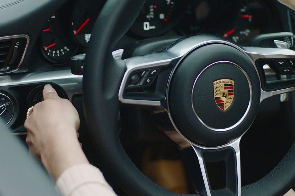 CarVia Porsche Lenkrad