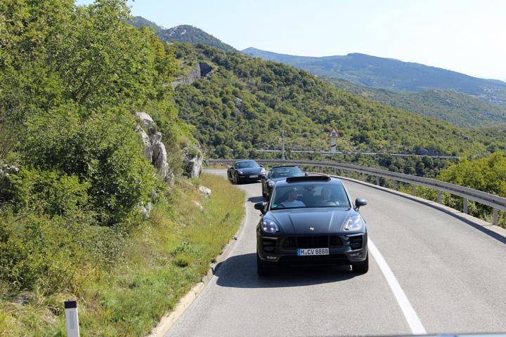 Porsche Roadtrip Kroatien