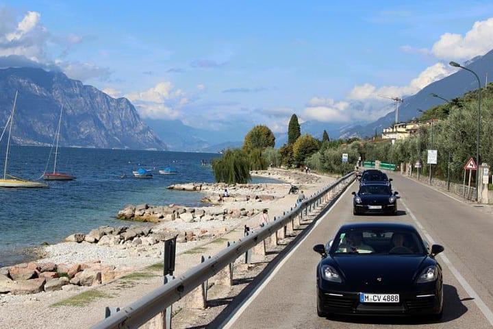 Porsche fahren Gardasee