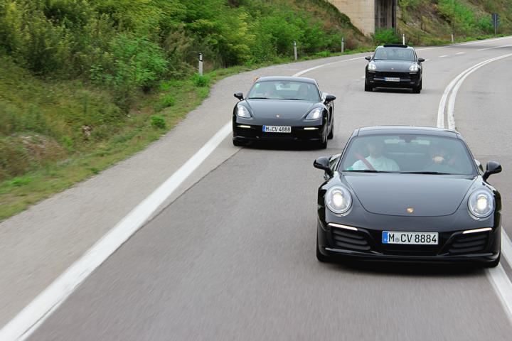 Porsche fahren Italien