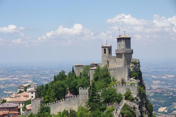 San Marino Altstadt