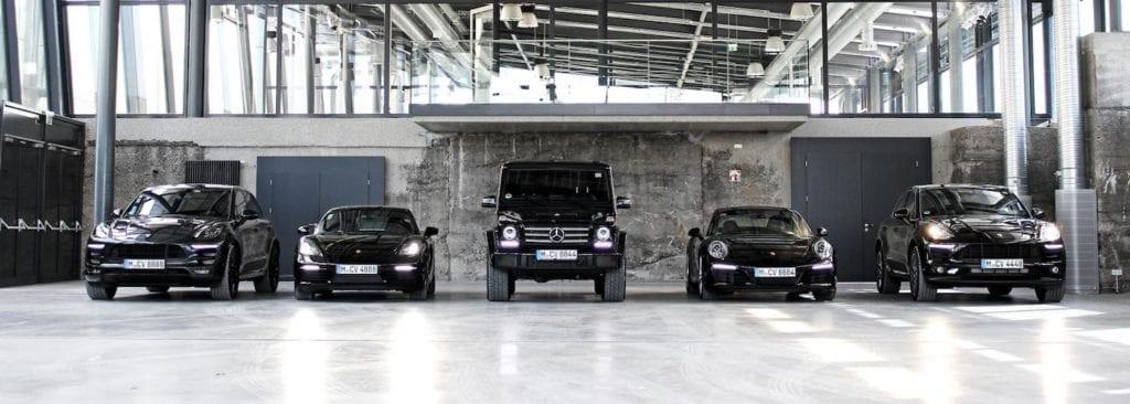 CarVia Sportwagen mieten Flotte