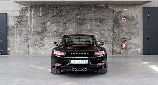 CarVia Porsche 911 Heck Porsche Langzeitmiete