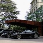 Porsche Tours Fuhrpark am Gardasee