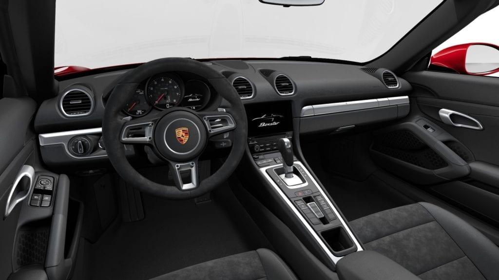 Porsche 718 Boxster mieten Interieur