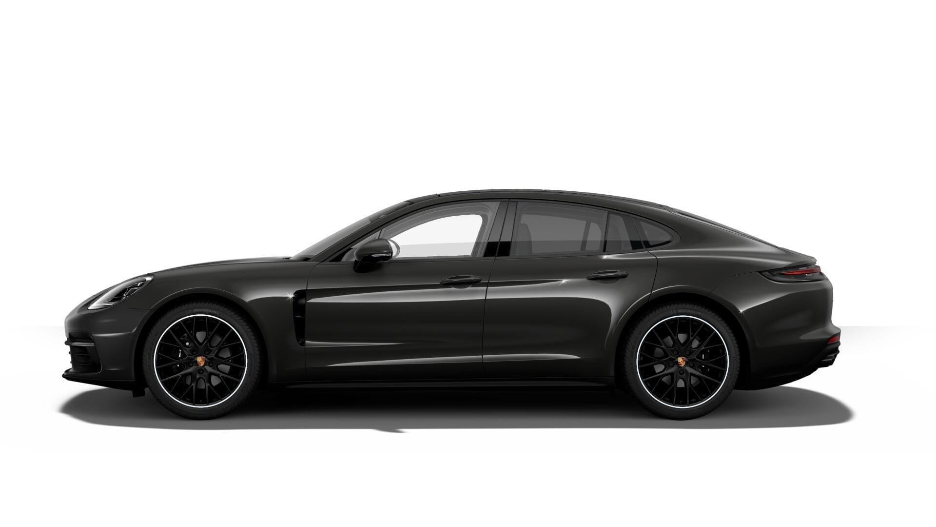 Porsche Panamera mieten Seite