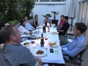 Abendessen Meranerhof Sportwagentour