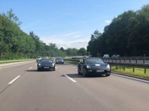 Sportwagentour Autobahn