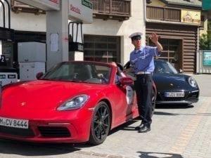 Sportwagentour Polizei