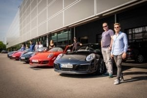 Sportwagentour Porsche Zentrum Olympiapark