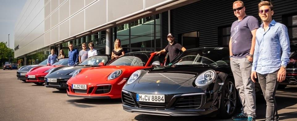 Sportwagentour Gruppe Porsche