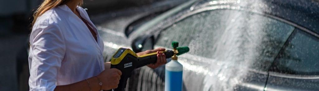 Mietwagen Sportwagen waschen