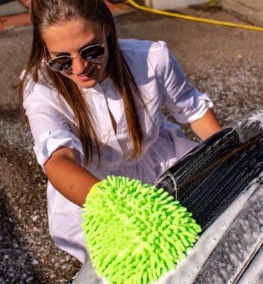 Mietwagen selbst waschen