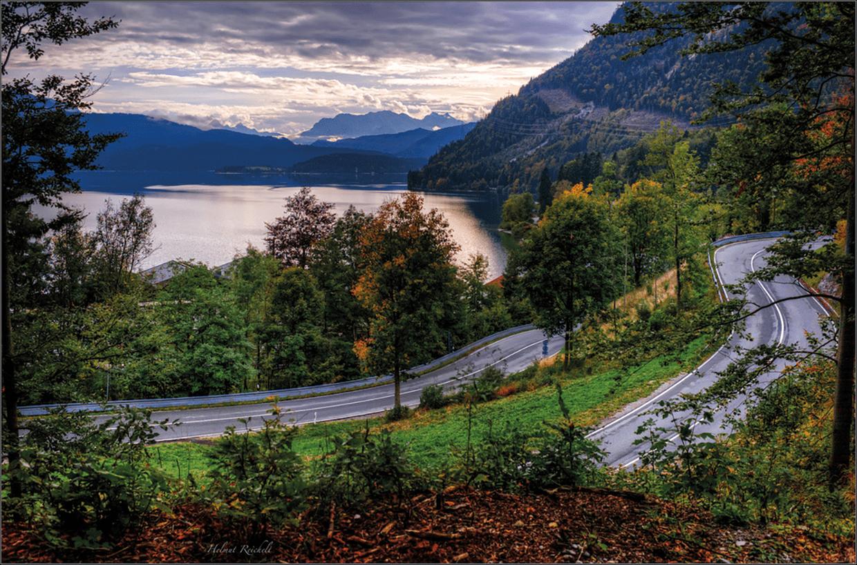 Route 2 Seelandschaft