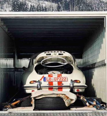 Porsche Oldtimer GP Ice Race