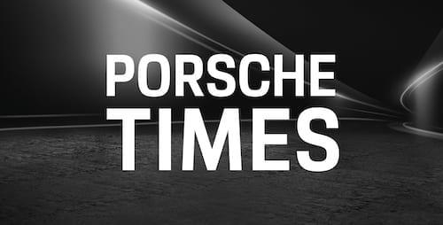 Porsche Times Logo CarVia