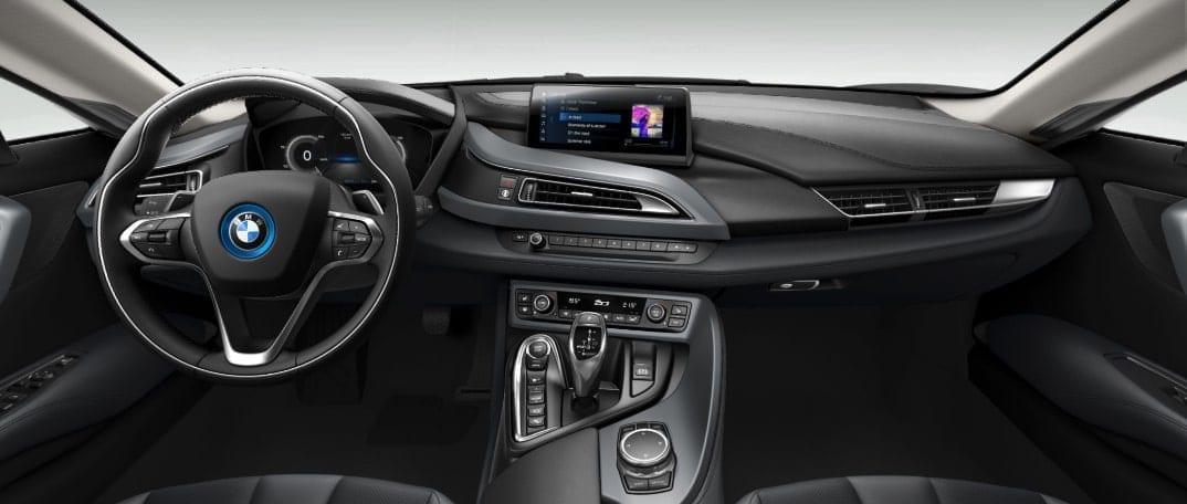 BMW i8 mieten Interieur