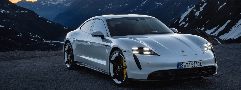 Porsche Taycan Turbo mieten in Muenchen deutschland