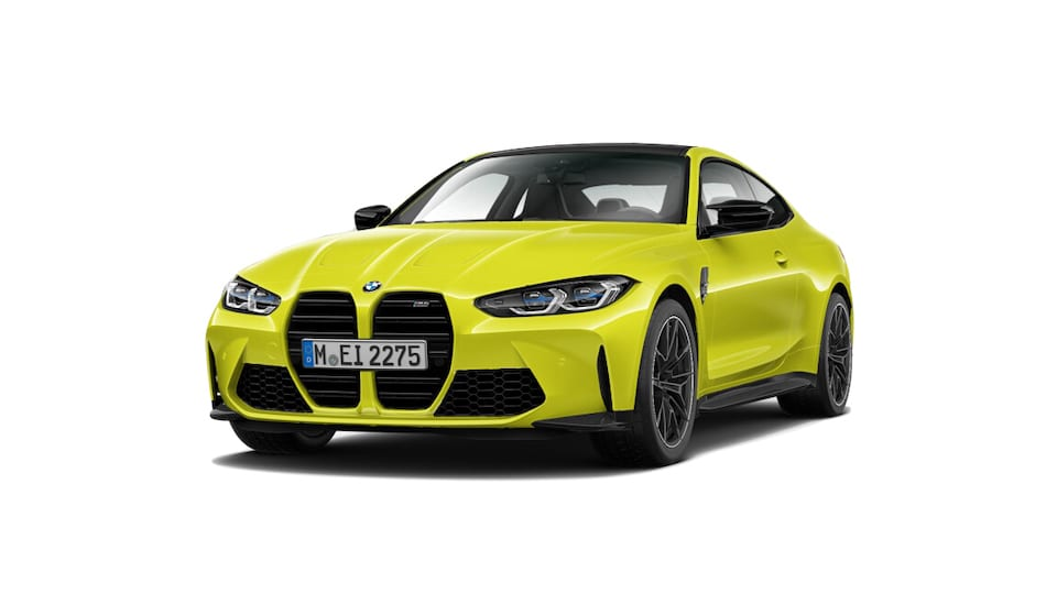BMW M4 in sao paulo gelb