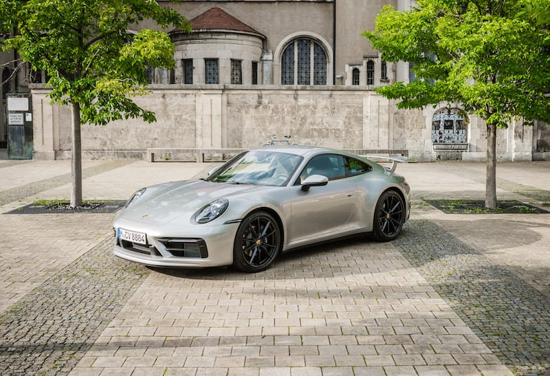 Porsche 911 silber