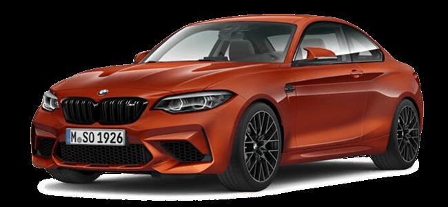 BMW M2 Competiton Sunset Orange