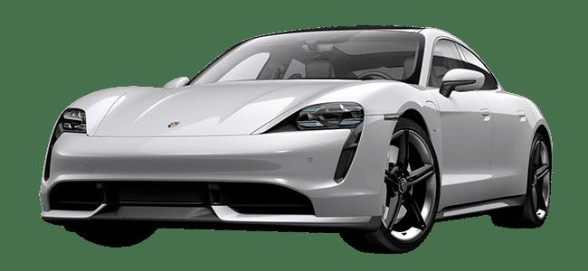 Porsche Taycan weiß