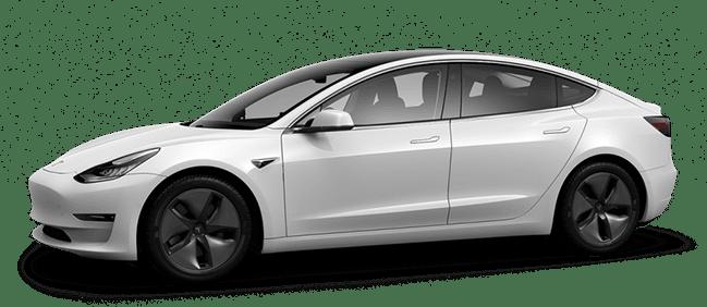 Tesla Model 3 Performance weiß