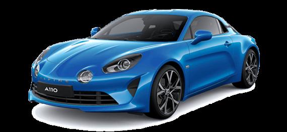 Renault Alpine in blau